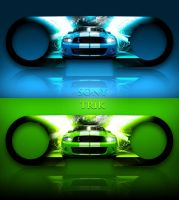 Ford Mustang Skin by Zero1122