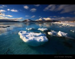 Welcome to the arctic.. by uberfischer