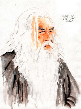 Gandalf by dndpat