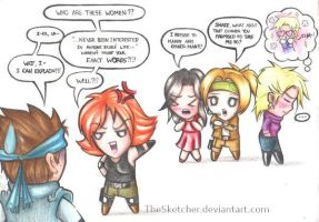 Why Snake and Meryl Broke Up by TheSketcher