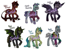 adopt pony MLP guy CLOSED by CatMag