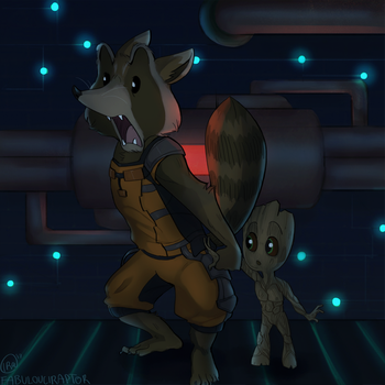 yOU SAID WHAT TO GROOT?! by Fabulouciraptor