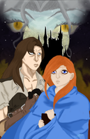 Trevor and Sypha-TFC contest by TeamAquaSuicune