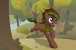 Galloping home by WingedJustice