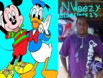 N Weezy BlueStars23 Mickey Mouse Donald Duck by NWeezyBlueStars23