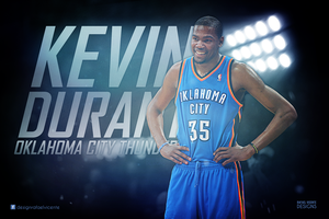 Kevin Durant Wallpaper by RafaelVicenteDesigns