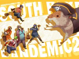 +SOUTHPARK -Pandemic2+ by goku-no-baka