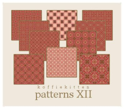 patterns XII by koffiekitten