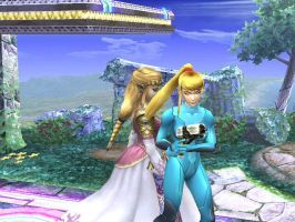 Zelda is being naughty by G3rain1
