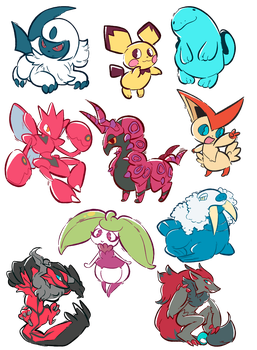 MORE pokemon requests by herbalmoontea