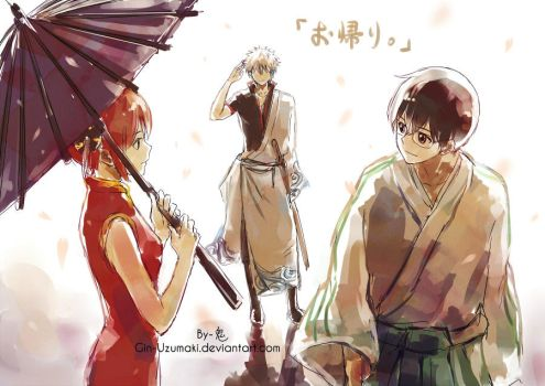GINTAMA-Welcome back by Gin-Uzumaki