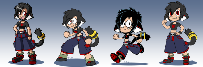 Lara different styles by rongs1234