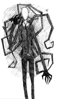 Slenderman by HamsterCatapult