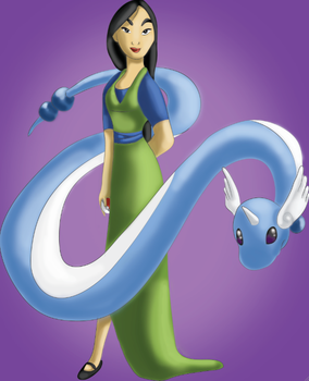 Trainer Mulan Will Like To Battle by snoopgirl