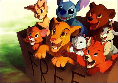 Box of Disney Cuteness by TamberElla