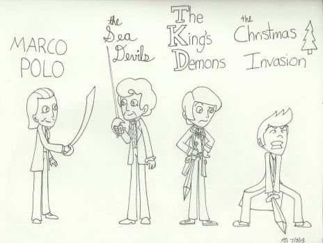 Knights of the TARDIS by Kindra-Mckleen