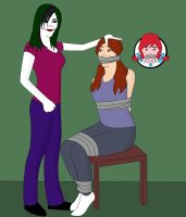That Redhead Girl From The Wendys Commercial Taped by jokerismyname