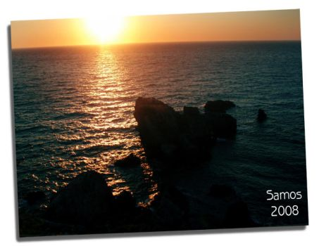 Samos Sunset by MyOceanSoul-GR-13