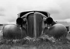 Old Car by MartinGollery
