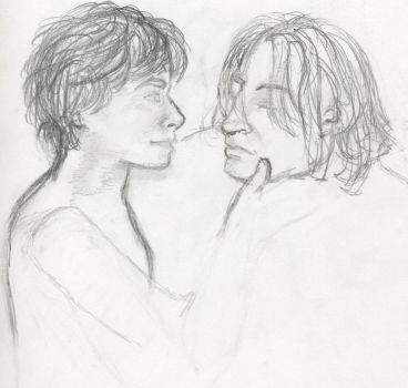 Harry and Snape by Aliquis01L