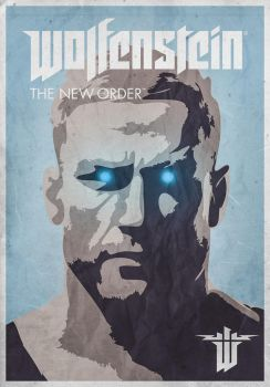 Wolfenstein - The New Order (fan art 2) by Caparzofpc