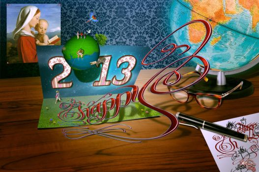 Happy 2013 by Ornorm