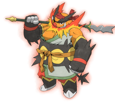 somewhat badass emboar i guess...