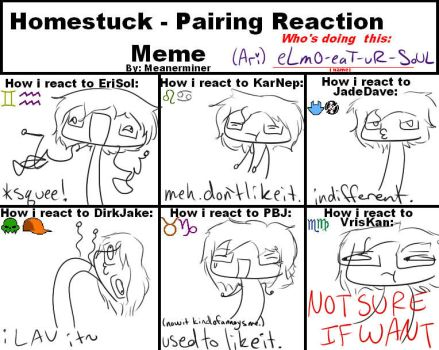 pairings reaction meme by HamsterCatapult
