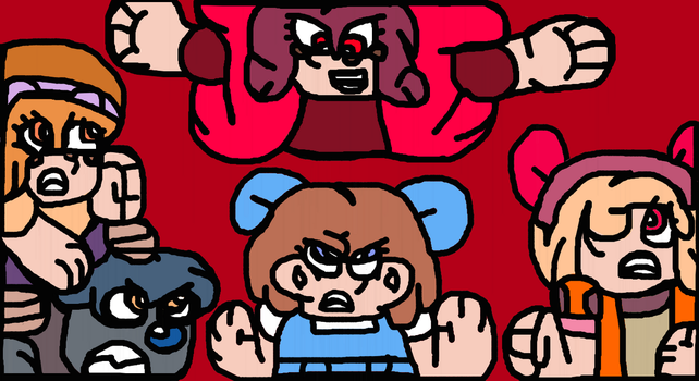 (Toon) Dorothy Special #1: Red N' Toony All Over by Gr8Finity