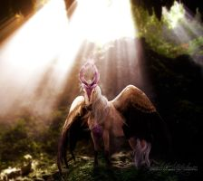 commission: always in this twilight by TayaRavena