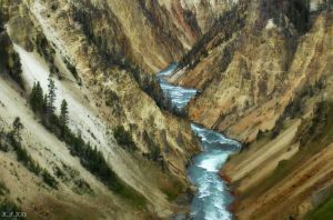 Yellowstone River by K-S-Photography