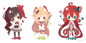 Lineless cheebs by Merollet