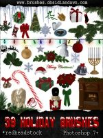 GIMP Holiday Brushes by Project-GimpBC
