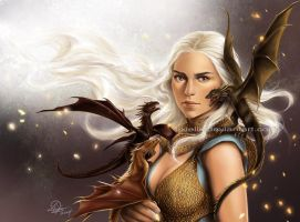 Mother of Dragons by TixieLix