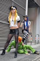 We are Angels ~ Panty and Stocking cosplay by Himecchin