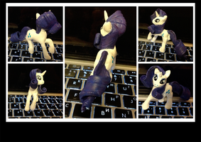 My very first miniature - Rarity by kiriALL