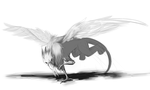 30 Day Monster Challenge - Day 6 - Gryphon by sp00ntane0us