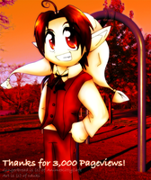 Thanks for 3000 :D by cduki