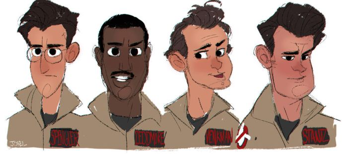 Ghostbusters by DaveJorel