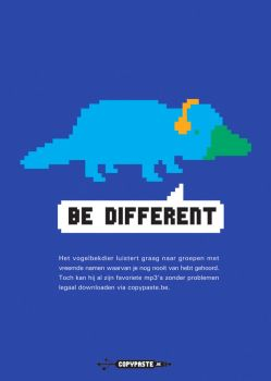 be different by mobutu
