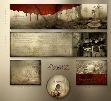 Damien's Trail Of Blood by YagaK