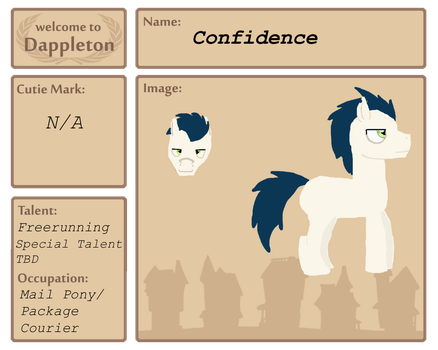 Confidence Dappleton Application by StormAlchemist15