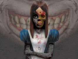 Zombie Alice by NiGHTSfanKevin