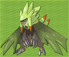 Fake: Chespin last evo by shinyscyther