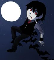 Chibi  Jack The Vampire by sofia-1989