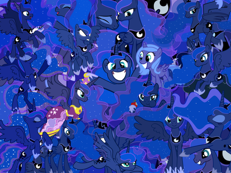 Too Much Luna by X-TURENT