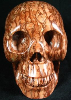 Map Jasper Stone Skull 001c by SKULLKRAFT