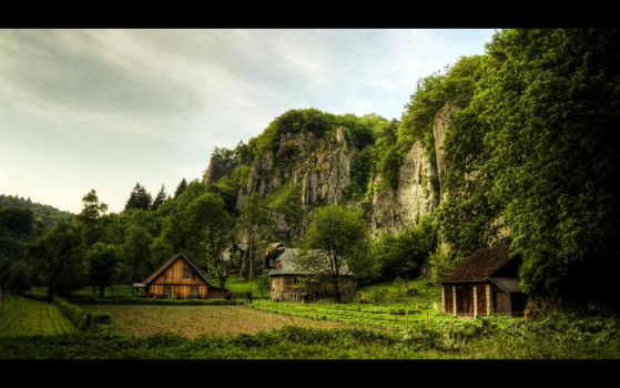 Rock Ruralscape by Beezqp