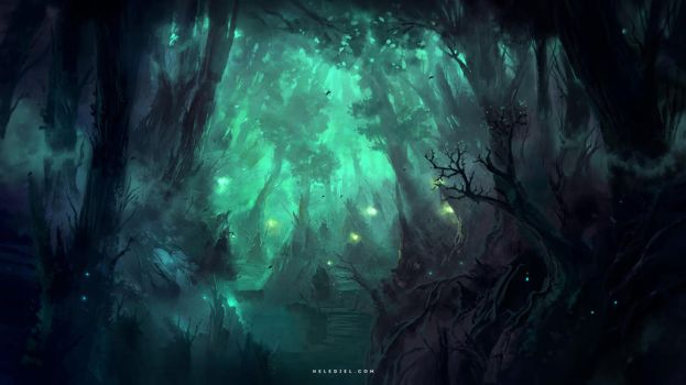 Deep Forests by Nele-Diel