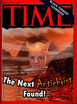 Time: The Next Antichrist by Cartoondiablo